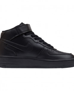 Кроссовки Nike Air Force 1 Mid '07 Black Leather