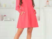 🎀Женское платье Арчи коралловое 👚