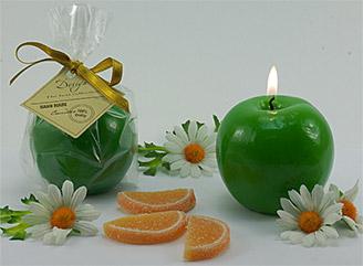 """Свеча """"Зеленое яблоко"""", арт. 13080"""