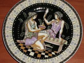 Тарелка декоративная Афродита диаметр 15.5 см