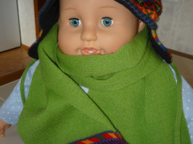Комплект шапка + шарф MAXVAL р 44