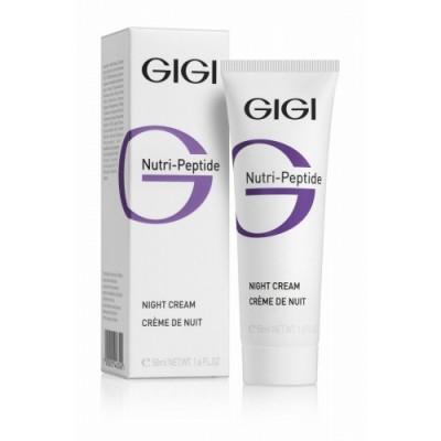 Пептидный ночной крем / GiGi Nutri Peptide Night Cream 200 м