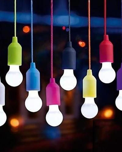 Подвесная лампа на шнурке