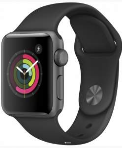 Apple Watch Series 1 38mm with Sport Band Black
