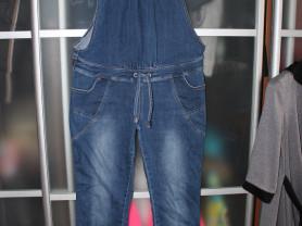 джинсовый комбинезон для беременных 48-50