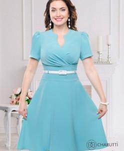 Платье Креативная (нимфа, с ремешком)