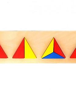 """Логический планшет """"Делим треугольник"""""""