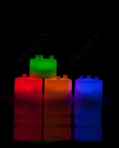 Лампа-ночник из цветных блоков «СЕМИЦВЕТИК» (Tangeez - Tangi