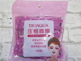 Маски для лица пресованные BioAqua