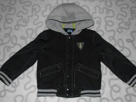 Куртка-бомбер F&F с капюшоном, 2-3 года