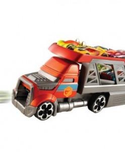 стреляющий авто-воз от хот вилс