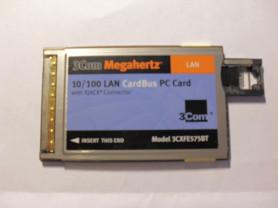 Сетевая карта 3COM MEGAHERTZ 10/100 LAN PC CARD