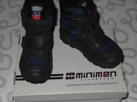 Новые зимние ботинки Minimen, 26 размер