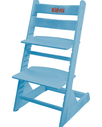 Регулируемый растущий детский стул Kid-Fix  СИНИЙ