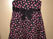 George р 3/4 г платье с вишнями
