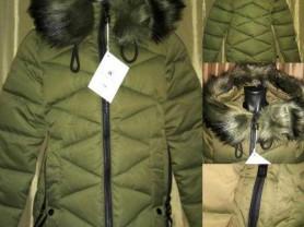Куртка новая, очень удобная цв. хаки, на синтепоне