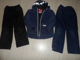 Пакет куртки Рейма и 2 штанов на 130-140 б/у