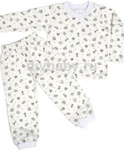 Пижама теплая Зверюшки