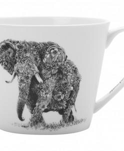 Кружка Африканский слон в подарочной упаковке Maxwell & Will