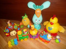 Брендовые развивающие игрушки