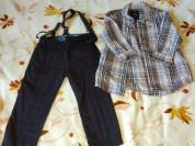 Брюки Zara + Рубашка для мальчика TOM TAILOR  Стил