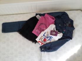 Пакет одежды для девочки р.122