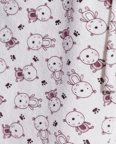 54756 Халат (Неженка)Мишки на молочном