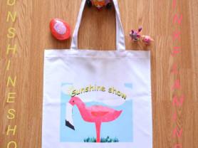 Пляжные сумки с авторскими принтами