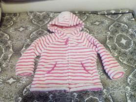 Плюшевая куртка кофта NEXT 3-4 до 104 см