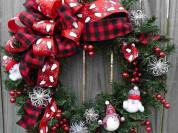 Выездной МК Рождественский венок