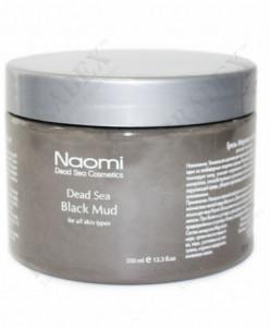Грязь Мертвого моря «NAOMI»350мл (Dead Sea Black Mud)