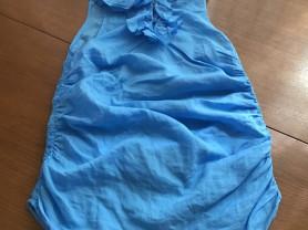 Нежно голубая блузка на лето Pinko