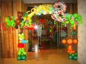 Доставка воздушных шаров, оформление шарами
