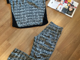 Летний костюм Gerard Darel (оригинал): брюки и футболка
