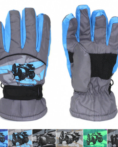 Детские зимние водонепроницаемые перчатки.