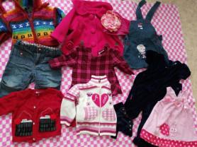 Пакет одежды на девочку возраст 6мес-1 год