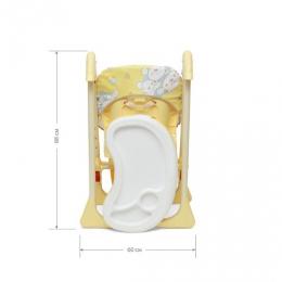 Стульчик для кормления Космик, от 6 месяцев до 3 лет, Globex
