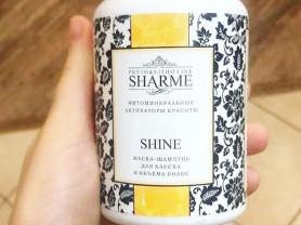 Маска-шампунь для блеска и объема волос