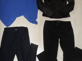 Пакет фирменной одежды блузка брюки пиджак 42-44