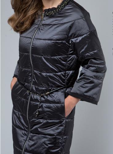 Пальто  холодная весна/осень с воротником