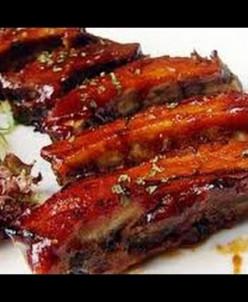 Ребрышки из свинины 2,6кг (4 лотка)