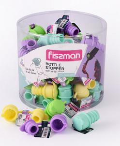 7640 FISSMAN Пробка для бутылки с крышкой (силикон)