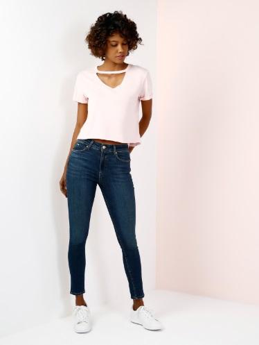 Koyu Mavi Kadın Pantolon