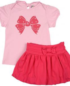 Комплект с юбкой для девочки