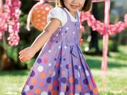Новое платье хб Pumpkin Patch 2в1 р-р 3года