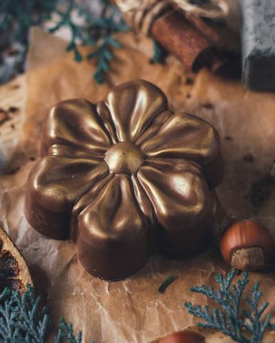 Фигурный шоколад ЦВЕТОК 1