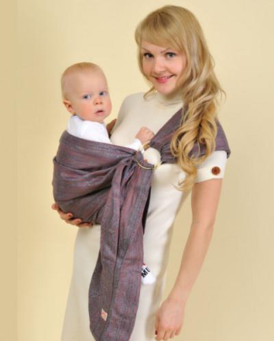 Слинг Жаккард Афродита хвост-карман, размер 46-48.