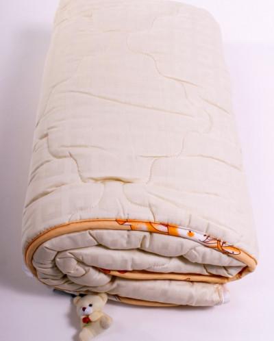 Одеяло 1 сп овечья шерсть