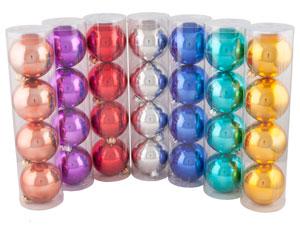 """Набор шаров """"Новогодний"""", диаметр 75 мм, глянцевый"""