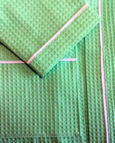 Вафельный халат